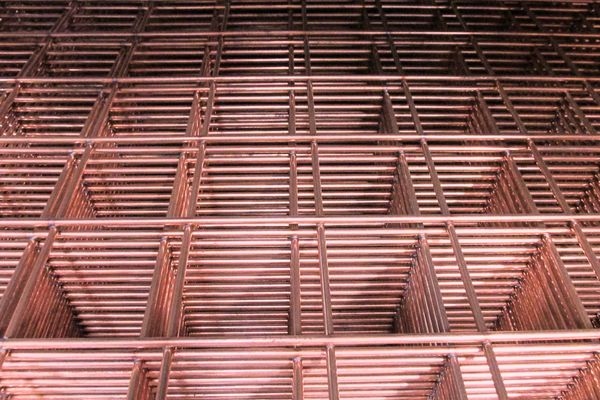 Steel Weld Mesh Panels (Self Colour)