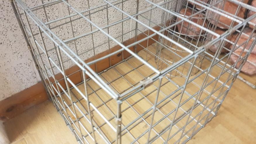 Gabion Basket Galfan Wire Mesh Cube 55cm Stone