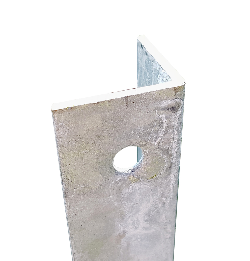 Galvanised Intermediate Post For 1 8m Chain Link Fence 2