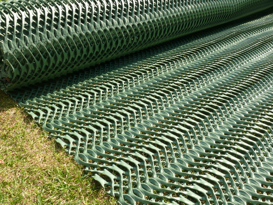 Grass Protection Mesh 2mx20m | Car Parking Reinforcement