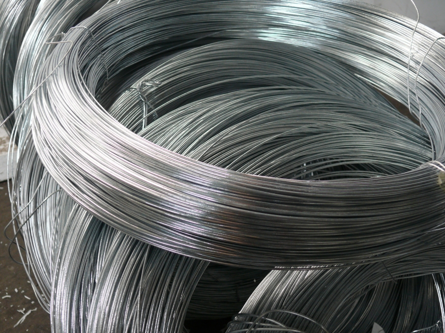 Thick Galvanised Fencing Line Wire   3.15mm x 409m Coil ...