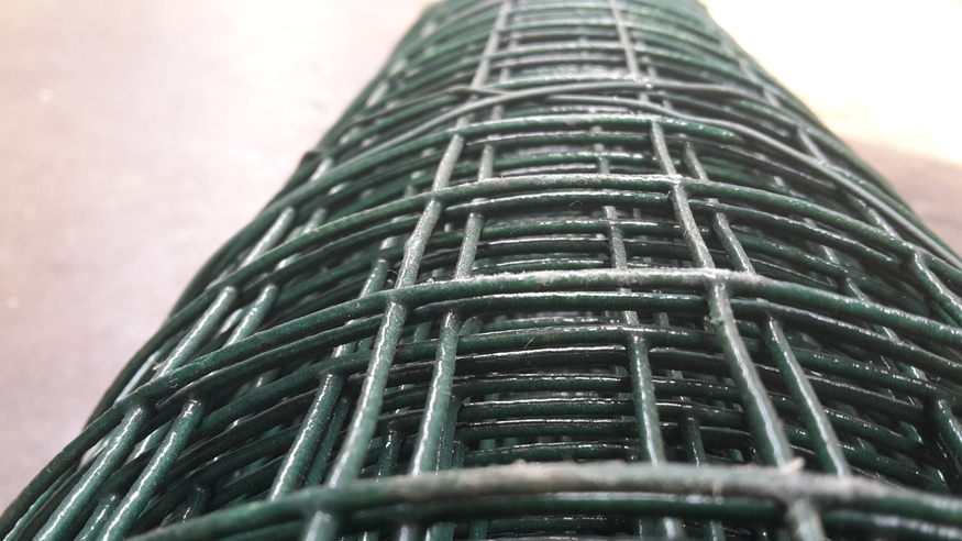 Green 1 8m 6ft Pvc Weld Mesh Fence Thick 10 Gauge