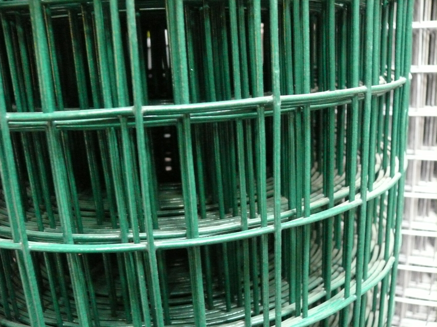 1 8mx25m Pvc Coated Heavy Welded Wire Mesh Fencing 50mm