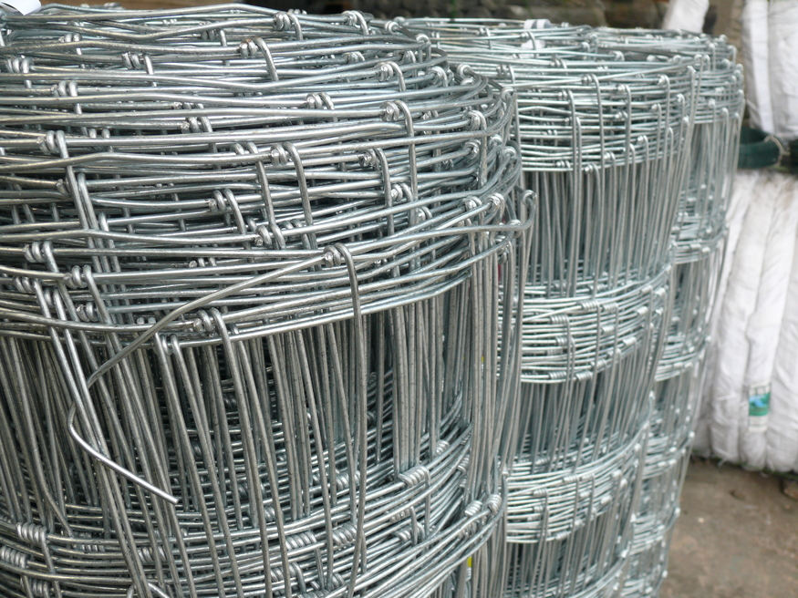 Stock Fencing L8 80 15 Light 0 8m X 50m 2 5mm 2mm Galv
