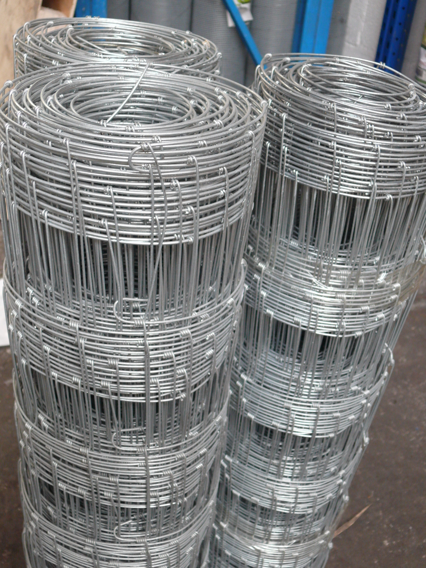 Stock Fencing L10/120/15 Light | 1.2m x 50m | Galvanised Wire Netting