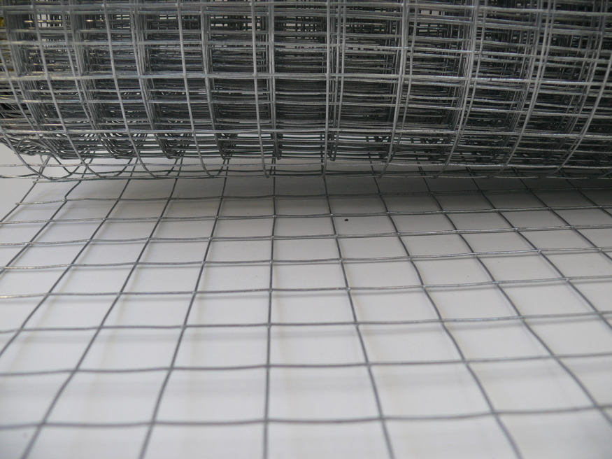 Weld Mesh 4ft 1 22mx30m Galvanised Steel Wire 25mm Hole