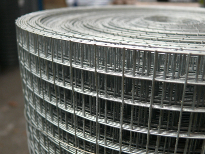Welded wire mesh galvanised steel fencing rolls welded wire mesh 3ft x 30m roll 12x12mm holes 19 swg 1mm greentooth Images