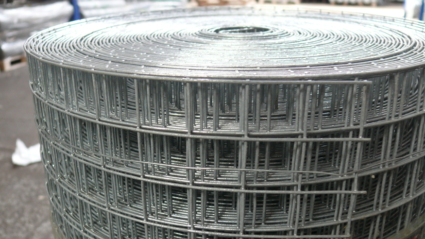 Weld Mesh 3ft X 30m Roll Galvanised Steel Wire 25mm