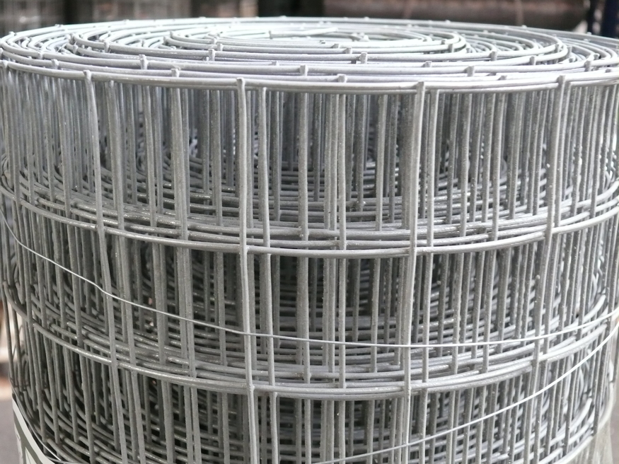 2X2 Wire Mesh | Weld Mesh 4ft 1 22mx6m Galvanised Steel Wire 50mm Hole 16swg