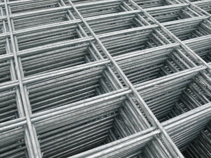 Weld Wire Mesh Flat Panel 1.8x0.9m   Heavy Duty Galvanised 5mm thick