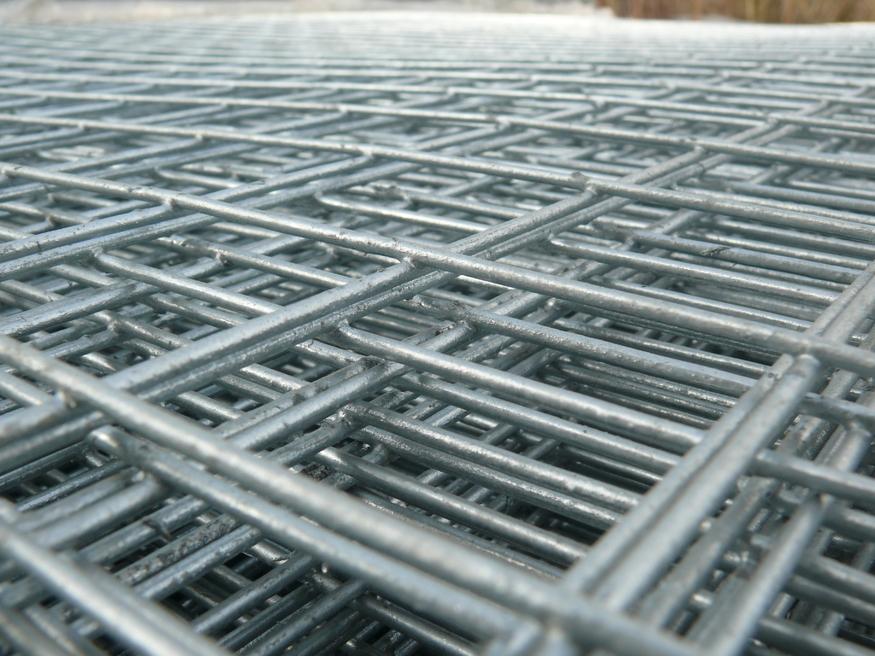 Welded Mesh Panel 2.44mx1.22m, 8ft x 4ft | 50x50mm holes | 12 gauge