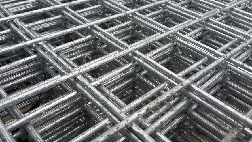 Weld Mesh Panel 2 44m X Ftx4ft 50mm 2inch Holes 8g
