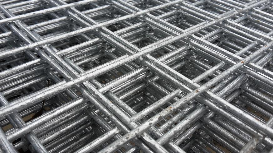 Weld Mesh Panel 8ft X 4ft 2inch 50mm Holes 8 Gauge