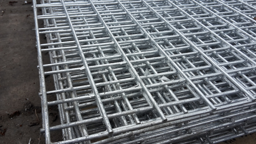 Welded Mesh Panel 3.6mx1.8m, 12ft x 6ft | 50x50mm holes | 10 gauge