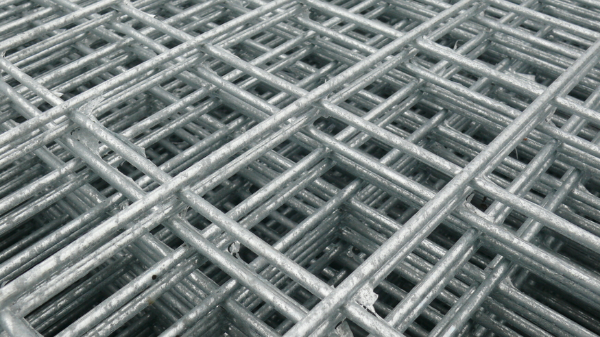 Weld Wire Mesh Panel 2 44m X 1 22m 25mm 1 Quot Holes 10 Gauge