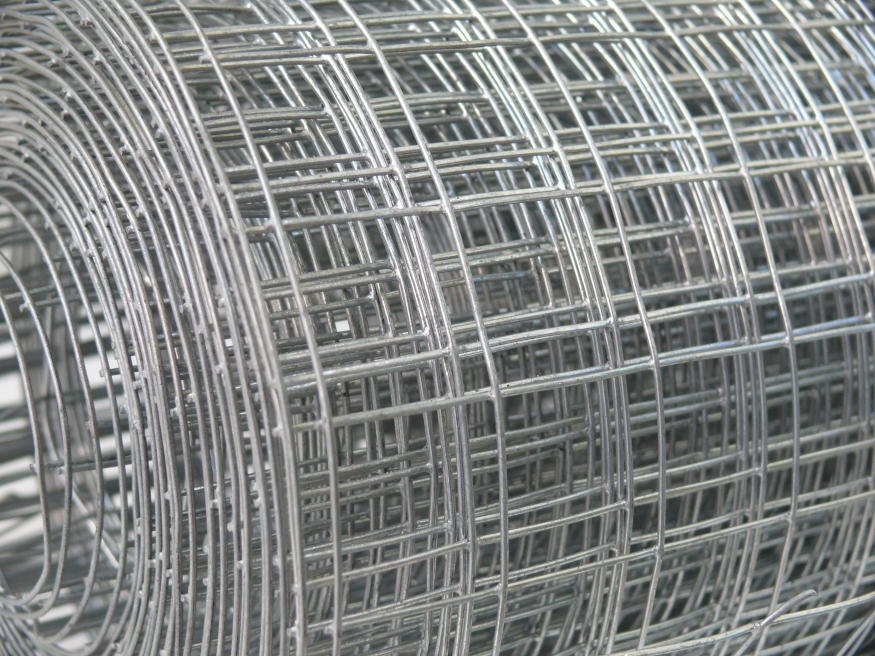 Welded Wire Steel Mesh Roll 2ft X 30m 1 Quot Square 1 6mm