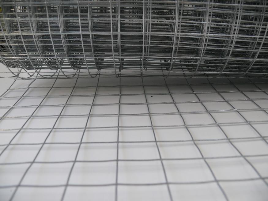 Welded Mesh Fencing 0 9m X 30m Galvanised Steel 19x19mm
