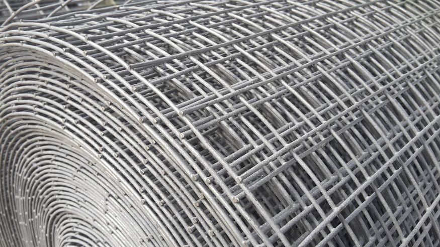 Galvanised Welded Wire Mesh 4ft 1 22mx6m 25mm Hole
