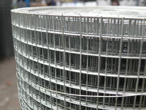 Galvanised Welded Wire Mesh 3ft x 30m ~ 19x19mm / 16 swg/1.6mm
