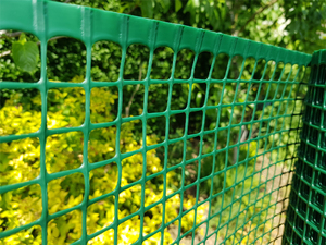 Square Plastic Garden Mesh ~ 1m x 30m roll ~ 20x20mm holes ~ Green