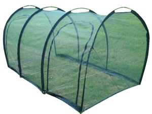 Netting Grow Tunnel ~ Large Walk-In Cloche ~ 3m x 1.5m x 1.5m