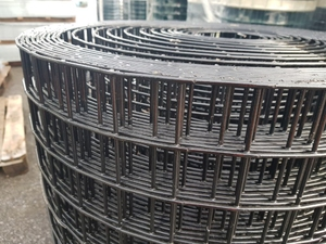 Premium Black PVC Coated Welded Mesh 0.45m x 30m (38mm) 3.55mm Dia.