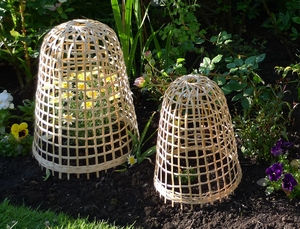 Bamboo Cloches 30cm dia. x 40cm high - Small 3 pack