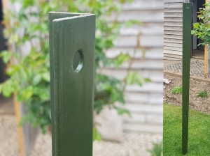Green Intermediate Post for 900mm Chain ...
