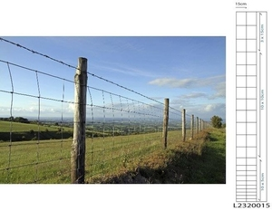 Deer Fence / Stock Fencing Mesh L23/200/15 ~ 2m x 50m