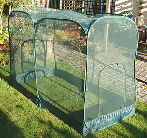 Pop-Up Double Fruit & Vegetable Netting Cage - 2mx1mx135cm(H)