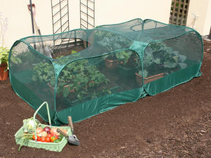Pop-Up Double Fruit & Vegetable Netting Cage - 2mx1mx75cm