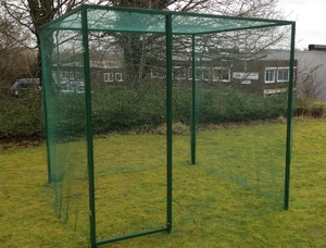 Fruit Cage (Door Kit & Bird Net) - Walk-in Heavy Duty 2mx2mx2m tall