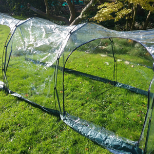 Polythene Grow Tunnel (with doors) ~ 3m long x 1m x 1m