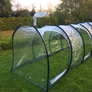 HD Polythene Cloche Grow Tunnel ~ Walk In 5m long x 1.5m x 1.5m