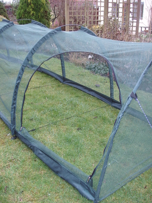 Netting Grow Tunnel ~ Large Walk-In Cloch ~ 3m x 1.5m x 1.5m