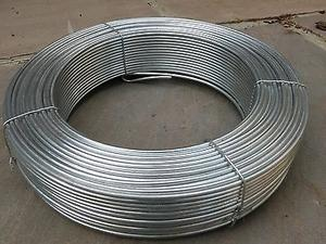 Galvanised Plain Garden Wire / Fencing ~ 1.6mmx32m ~ 16swg