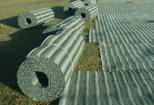 Grass Reinforcement Mesh 2mx20m ~ Medium 13mm thick 1.6kg/sqm