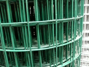 "PVC Welded Wire Steel Mesh 0.9m (3ft) x 25m (50mm/2"" hole), 12g/14g"