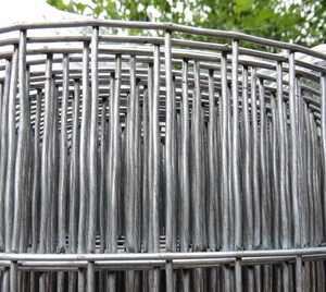 Thick Galvanised Weld Wire Mesh 1.8m x 25m ~ (25mm X 75mm hole) ~ 12 swg