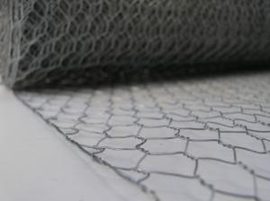 Galvanised Wire Netting ~ 600mm x 25m ~ 13mm Holes ~ 0.7mm wire