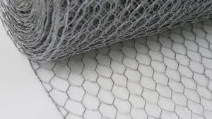 Galvanised Wire Netting ~ 600mm x 50m ~ 13mm Holes ~ 0.7mm wire