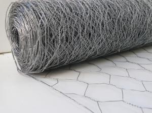 Galvanised Wire Fencing Netting ~ 1.8m x 25m ~ 50mm / 2inch Hex