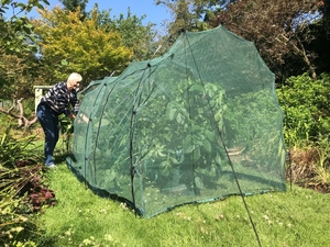 Netting Grow Tunnel ~ Large Walk-In Cloche ~ 5m x 1.5m x 1.5m