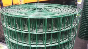 "Heavy PVC Welded Steel Mesh 1.2m x 25m (50mm/2"" hole), 12swg"