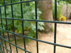 Thick PVC Coated Welded Wire Mesh 3ft x 30m (25mm mesh), 14/16 swg