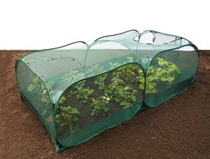 Reusable Pop-Up Fruit & Vegetable Netting Cage - 250x125x75cm (H)