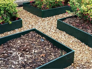 Raised Garden Bed Kit - 2.5m x 1.25m (250mm high)