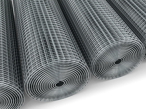 "Stainless Steel 304 Weld Mesh 1.22m/4ft x 30m Roll 1"" x 1"" / 16 swg"