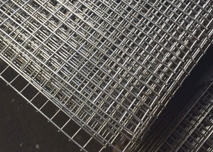 Welded Mesh Panel 2.4m x 1.2m - 12.5mm mesh (1.6mm) - Stainless Steel