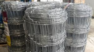 Galvanised Stock Fencing ~ C8/80/15 ~ 80cm x 50m 3mm/2.5mm wire